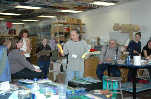 David Teaching a Workshop